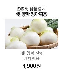 2015 햇 상품 출시 햇 양파 5kg 장아찌용 4,900원