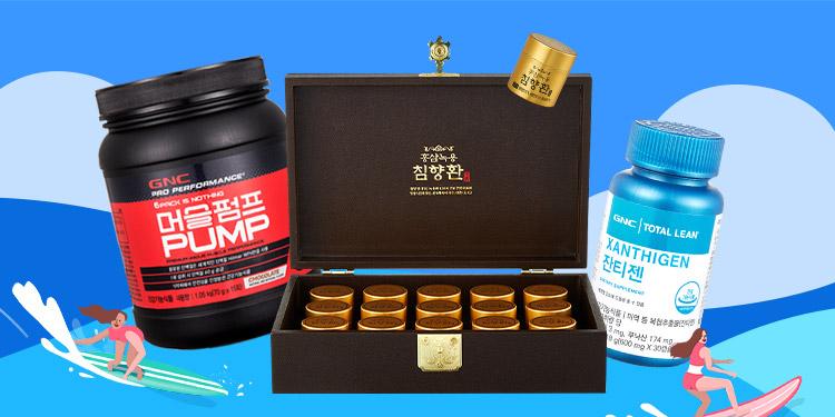 GNC(로고) X 천지인(로고)   예전같지 않은 몸 컨디션 되찾자!  GNC/천지인홍삼으로 면역 UP 건강 챙기기