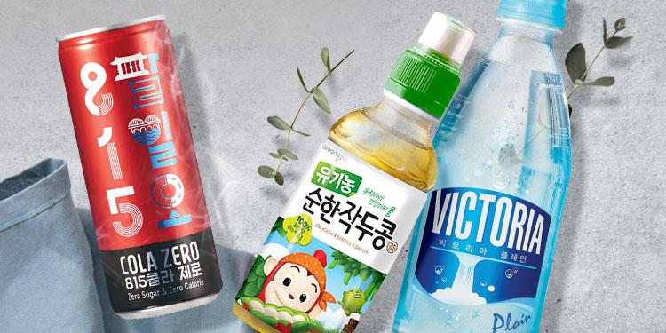 웅진식품 브랜드위크(10%+7%쿠폰혜택)