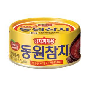 김치찌개용참치250g원터치