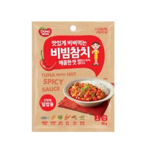 비빔참치_매콤한맛 80g