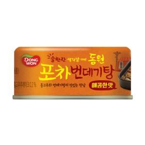 [동원]포차 번데기탕90g