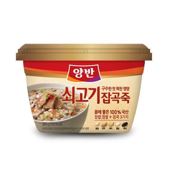 [동원] 양반 쇠고기잡곡죽 288g