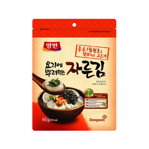 [동원] 양반김 요리에 뿌려먹는 자른김 65g