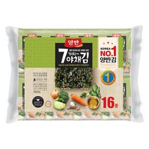 7가지야채김 5g*16봉
