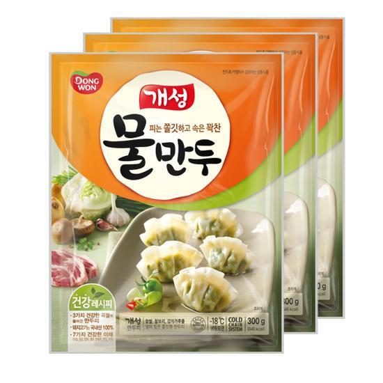 [동원] 개성물만두 300gx3봉