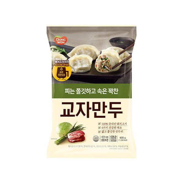 [동원] 개성교자만두고기 600gx2봉
