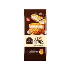 [동원] 수제치즈돈까스 480g(4입) /자연산 모짜렐라 치즈가 듬뿍!