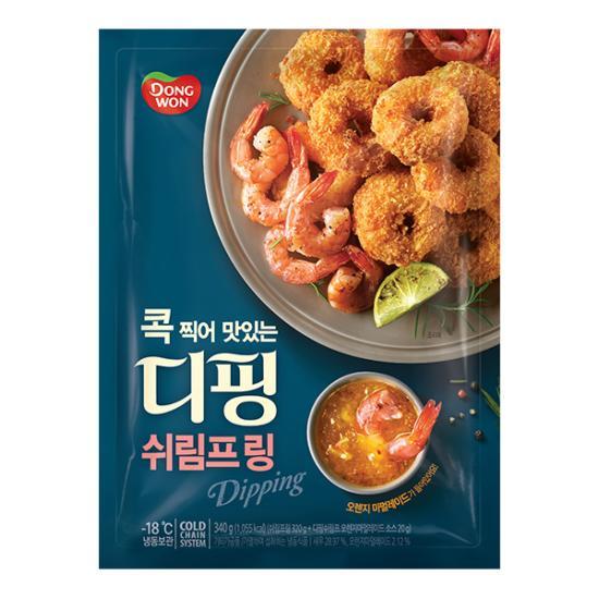 [동원] 디핑 쉬림프 링 340g