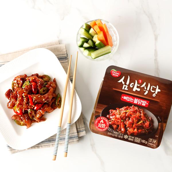 [동원] 심야식당 뼈없는불닭발 160g