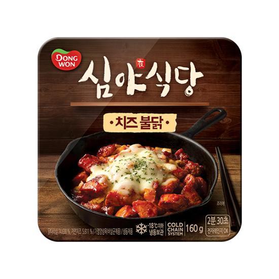 [동원] 심야식당 치즈불닭 160g