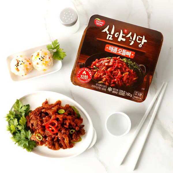 [동원] 심야식당 매콤오돌뼈 160g