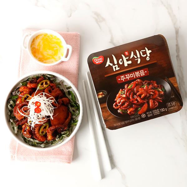[동원] 심야식당 주꾸미볶음 180g