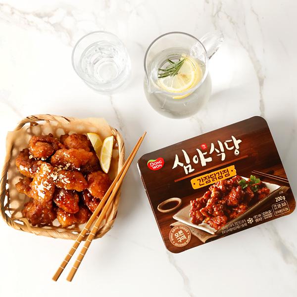 [동원] 심야식당 간장닭강정 200g