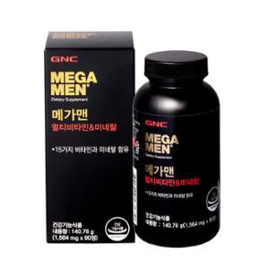 GNC 메가맨 멀티비타민 미네랄 (90)