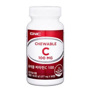 [GNC] 츄어블 비타민C 100 (60정)