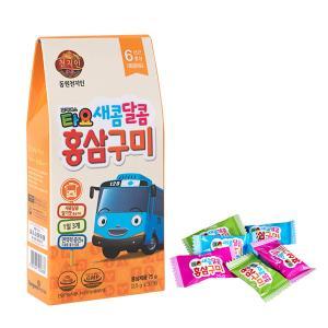 꼬마버스타요 새콤달콤 홍삼구미 (2.5gx30정)