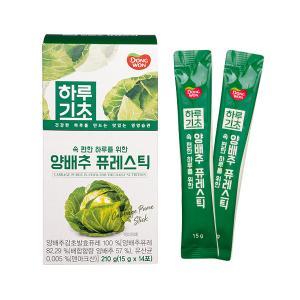[동원] 하루기초 양배추 퓨레스틱 (15g*14포)