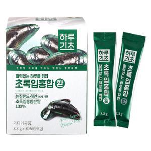 [동원] 하루기초 초록입홍합 환 (3.3gx30포)