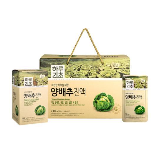 하루기초 양배추진액 (80ml*30포)