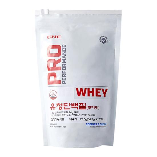 GNC 유청단백질 (쿠키맛)