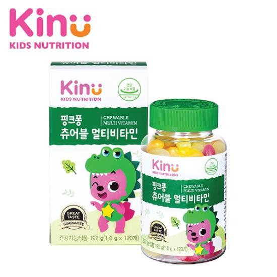 [KINU] 핑크퐁 츄어블 멀티비타민