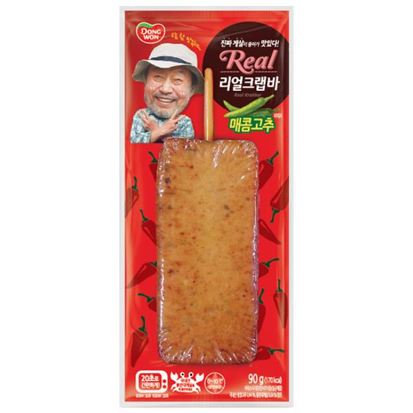 온)리얼크랩바 매콤고추 90g