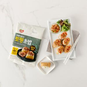 동원 토핑초밥 (유부+참치바베큐) 230g