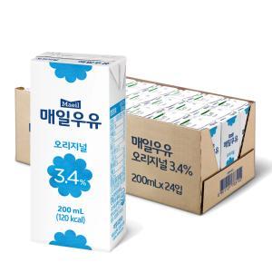 멸균우유 오리지널 200ML 24팩.jpg