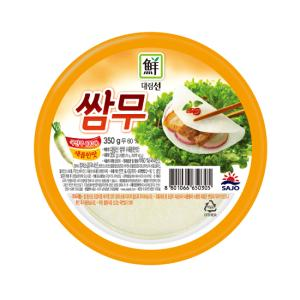 대림선 쌈무(새콤한맛) 350g