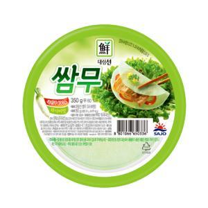대림선 쌈무(와사비맛) 350g