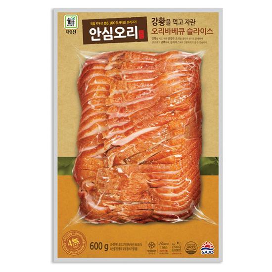 [대림선] 강황을 먹고자란 오리바베큐 슬라이스 600g