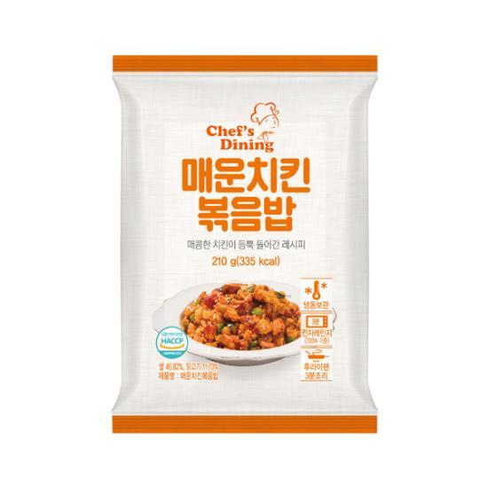 [천일냉동] 매운치킨 볶음밥 (파우치) 210g*10