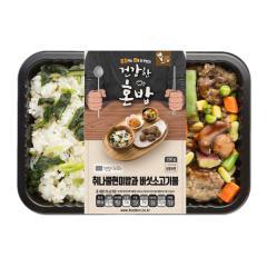 [에스앤씨] 취나물현미밥과 버섯소고기볼 250g