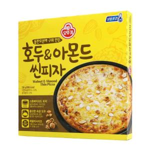 [오뚜기] 호두&아몬드 씬피자 316g
