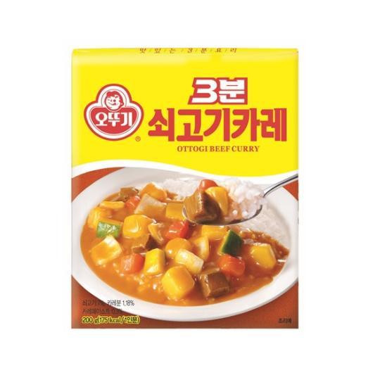 [오뚜기] 3분 쇠고기카레_200G