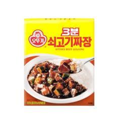 [오뚜기] 3분 쇠고기 짜장 200g*5