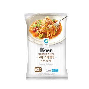 [대상] 청정원 로제 스파게티_300G