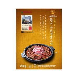 [군산오징어] 오징어우삼겹불고기 _ 250g
