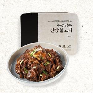 [계절밥상] 숙성담은간장불고기 500g