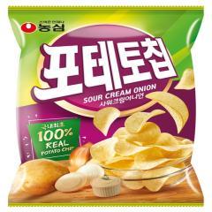 [농심] 포테토칩 샤워크림어니언 125g
