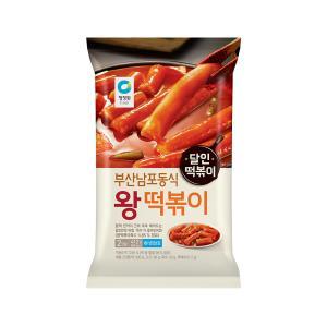 [대상] 부산남포동식 왕 떡볶이 412g