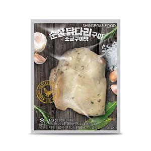 [신세계푸드] 순살닭다리 소금구이 120g
