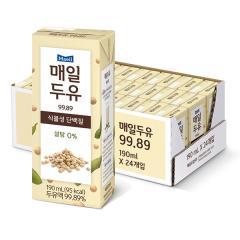 [매일유업] 매일두유 99.89% 190ml*24팩