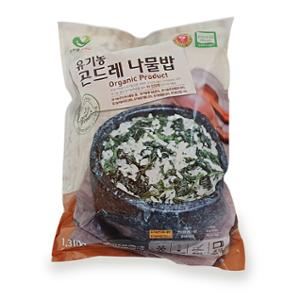 [한우물] 유기농 곤드레나물밥 262gX5