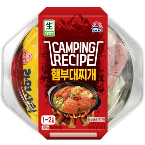 [사조대림] 캠핑 레시피 햄부대찌개 420g