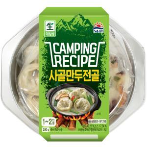 [사조대림] 캠핑 레시피 사골만두전골 290g