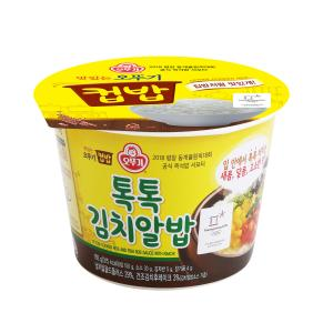 [오뚜기] 맛있는 오뚜기 컵밥 톡톡 김치알밥 192g