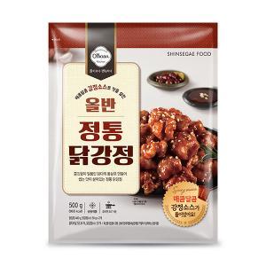 [신세계푸드] 올반_정통 닭강정_80g
