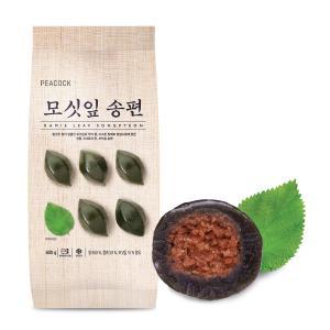 [신세계푸드] 피코크_모싯잎 송편 떡_600g